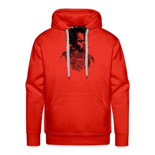 zulu man png - Sweat-shirt à capuche Premium pour hommes
