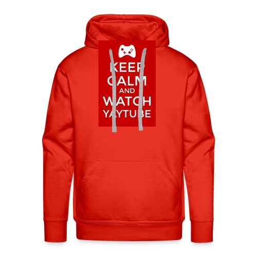 Keep Calm and Watch YayTube - Men's Premium Hoodie