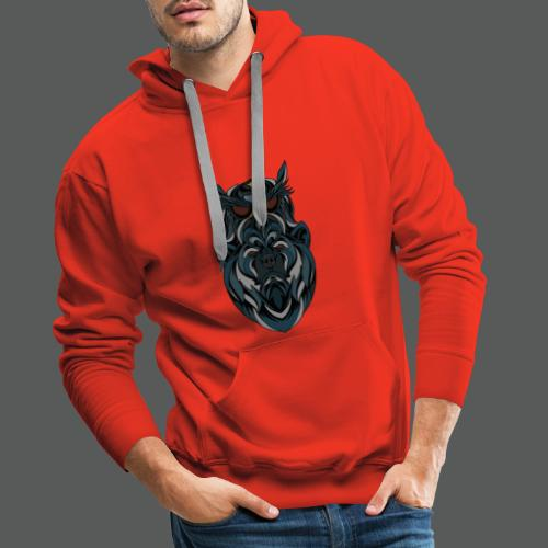 animal art work - Men's Premium Hoodie