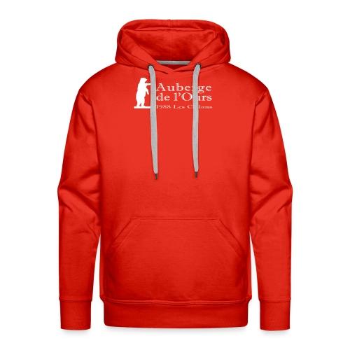 Auberge Logo - Sweat-shirt à capuche Premium pour hommes