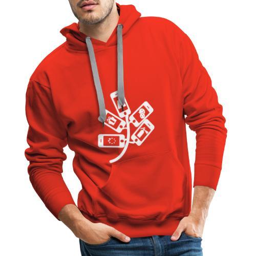 Stone Marty - Sweat-shirt à capuche Premium pour hommes