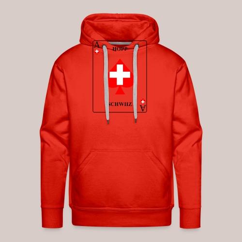 Schweiz - Männer Premium Hoodie