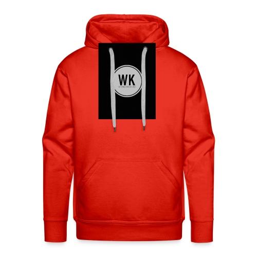 WienerKickerZ Logo - Männer Premium Hoodie