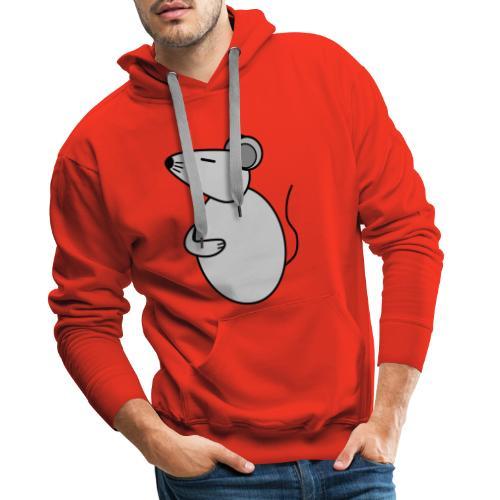 Rat - just Cool - c - Men's Premium Hoodie