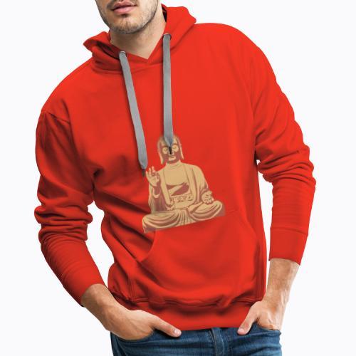 buddha om - Men's Premium Hoodie