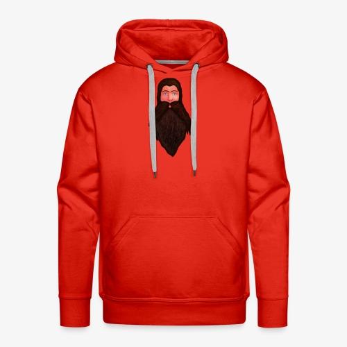 Tête de nain - Sweat-shirt à capuche Premium pour hommes
