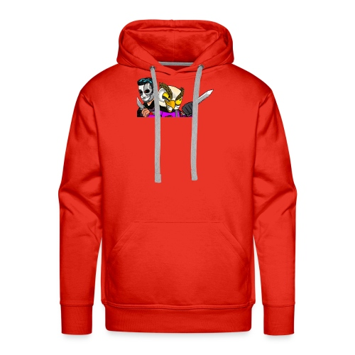 Black ops Extreme merch both my GTA characters - Men's Premium Hoodie