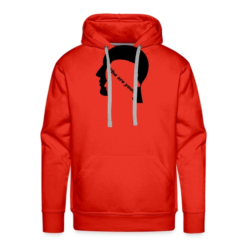 Who are you - Männer Premium Hoodie