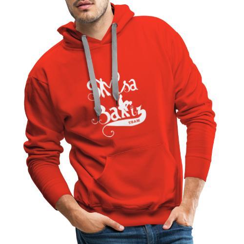 SalsaShirtSilouhette - Sweat-shirt à capuche Premium pour hommes