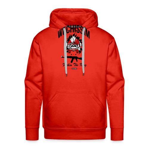 wechissim - Sweat-shirt à capuche Premium pour hommes