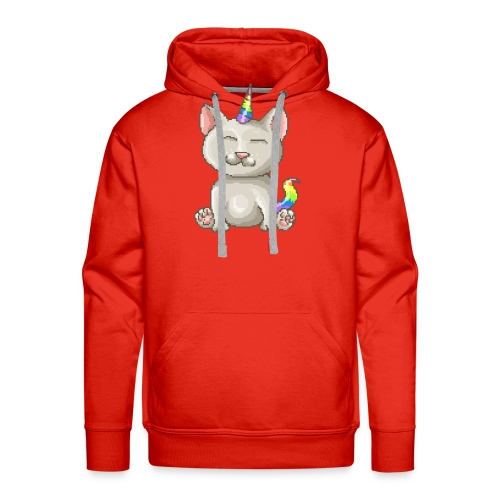 Kitty Unicorn - Männer Premium Hoodie