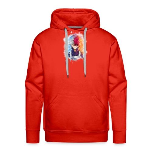 Sans titre 1 as watercolor 5 - Sweat-shirt à capuche Premium pour hommes