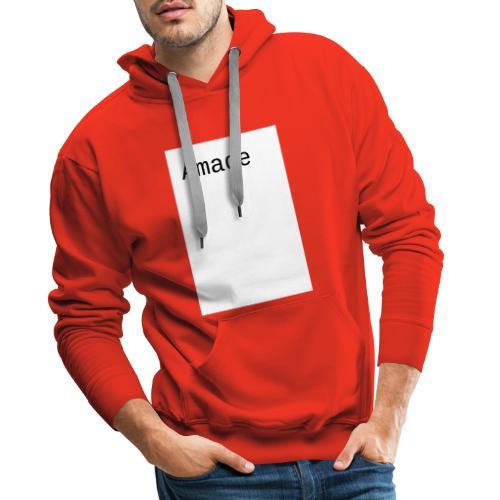 amade - Männer Premium Hoodie