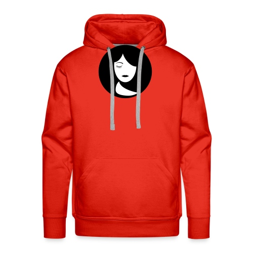 face - Mannen Premium hoodie