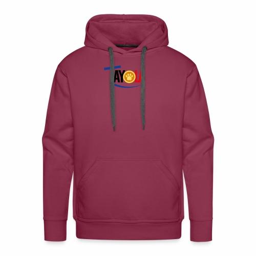 TAYOLA Nouveau logo!!! - Sweat-shirt à capuche Premium pour hommes