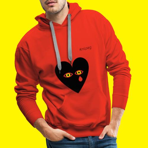 Can't u feel the pain - Mannen Premium hoodie