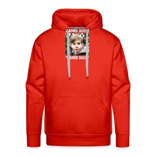 Wahed guu$ merch clitorisknaap - Mannen Premium hoodie