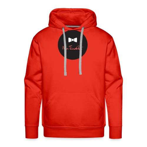 Mr.TinoArt Black - Sweat-shirt à capuche Premium pour hommes