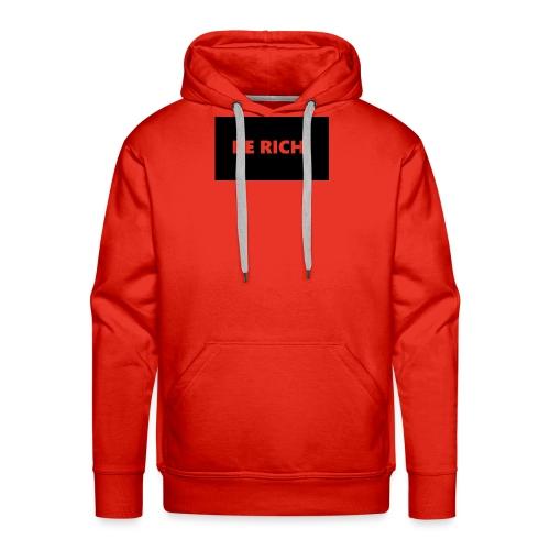 BE RICH REFLEX - Mannen Premium hoodie