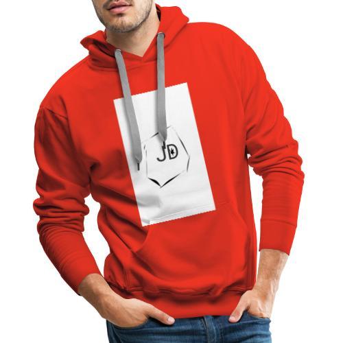 JDJest dobrze - Bluza męska Premium z kapturem