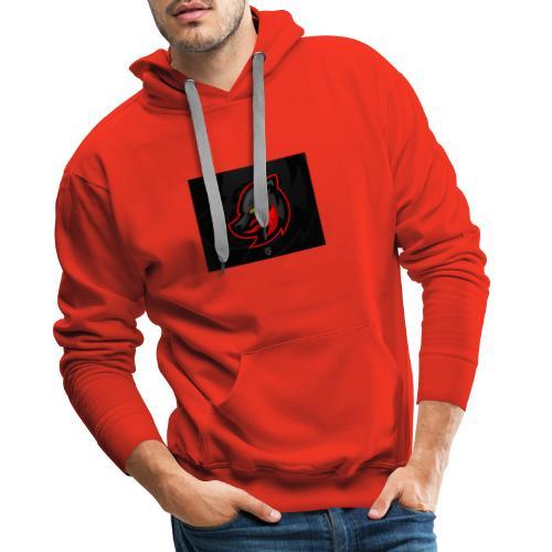 devil fox twitch logo - Männer Premium Hoodie