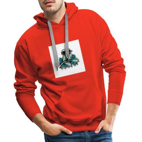 bleu - Sweat-shirt à capuche Premium pour hommes