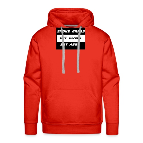 Smoke, Cut, Eat - Men's Premium Hoodie