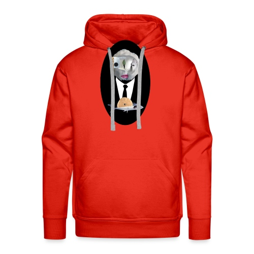 Looking in the mirror - Männer Premium Hoodie