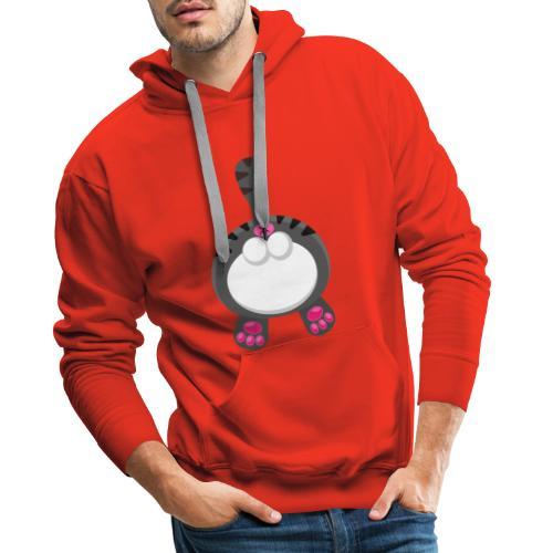Katzen PoPo - Männer Premium Hoodie