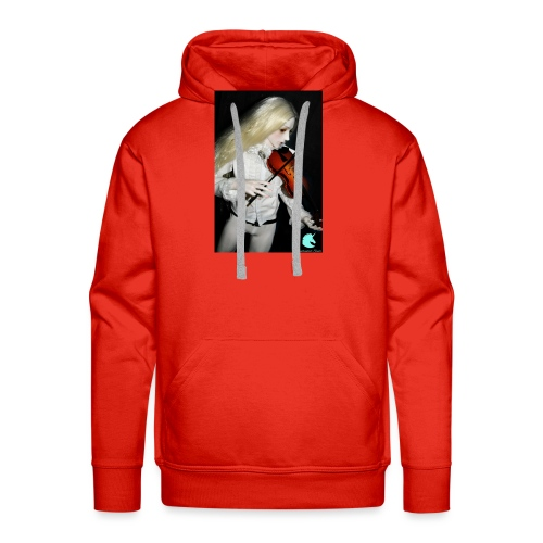Vampire Violin Gothic Music Fantasy Enchanted - Men's Premium Hoodie
