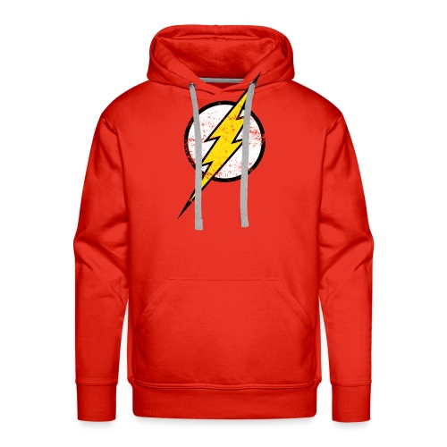 DC Comics Justice League Flash Logo - Männer Premium Hoodie