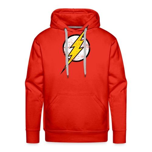 DC Comics Justice League Flash Logo - Männer Premium Hoodie