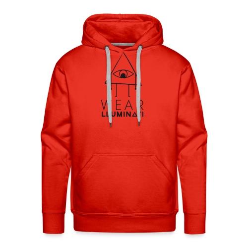 Wear lluminati - Sudadera con capucha premium para hombre