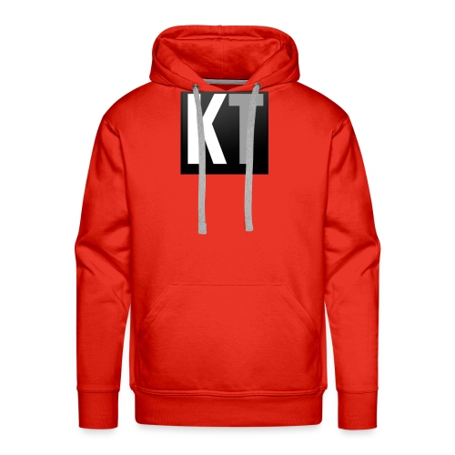 KT iPhone edition phone case - Men's Premium Hoodie