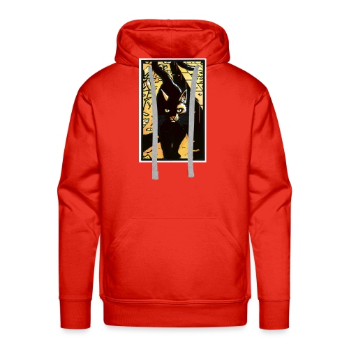 The cat from the Tale of One Bad Rat - Men's Premium Hoodie