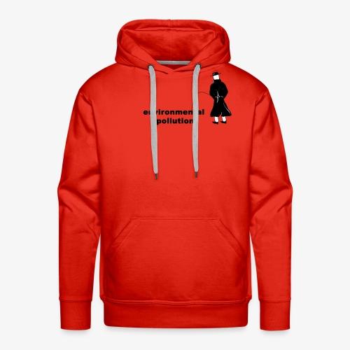 Pissing Man against Environmental Pollution - Männer Premium Hoodie