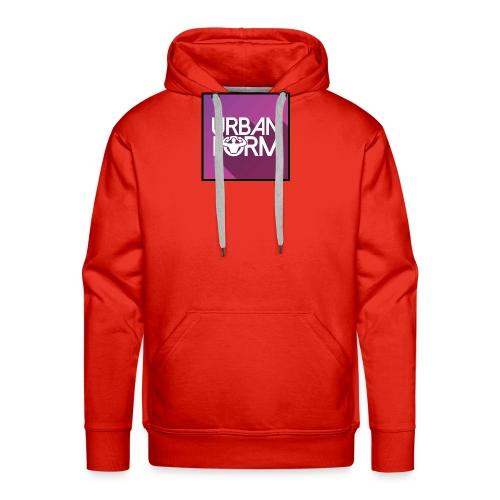 Logo URBAN FORM - Sweat-shirt à capuche Premium pour hommes