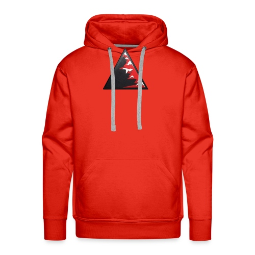 Climb high as a mountains to achieve high - Men's Premium Hoodie
