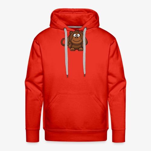 monkey - Felpa con cappuccio premium da uomo