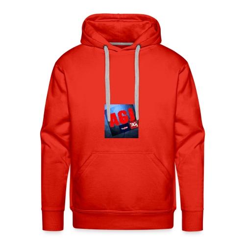 AGJ Nieuw logo design - Mannen Premium hoodie