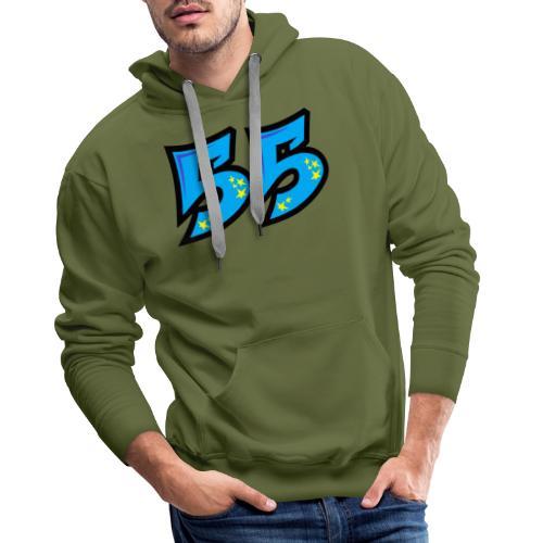 graf55blue - Miesten premium-huppari