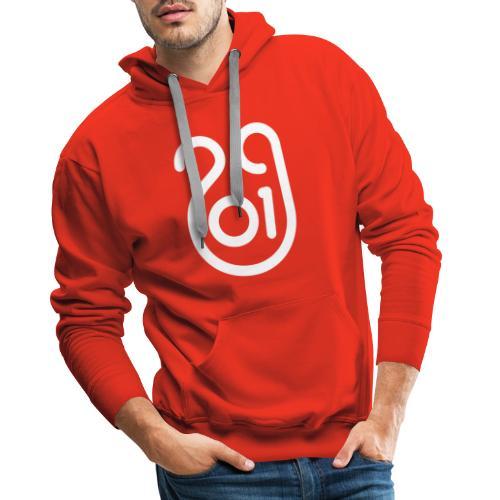 Année du cochon de terre - Sweat-shirt à capuche Premium pour hommes