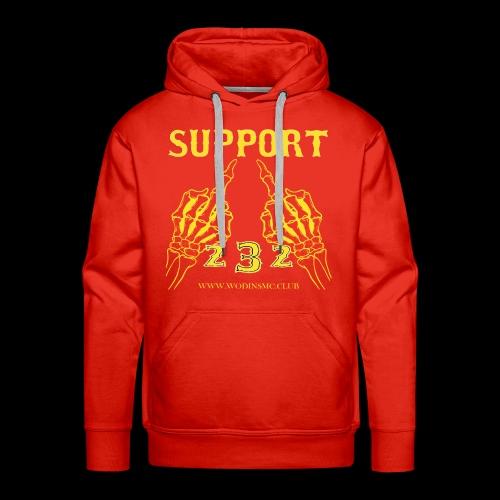 SUPPORT1 - Men's Premium Hoodie
