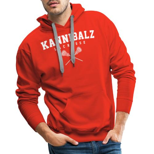 Kannibalz Lacrosse 3 - Mannen Premium hoodie