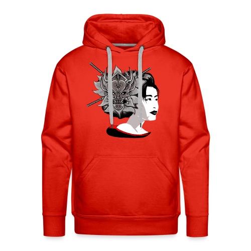 Warrior Flower - Mannen Premium hoodie