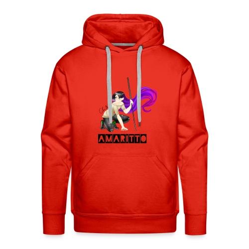 official amaritto logo - Men's Premium Hoodie