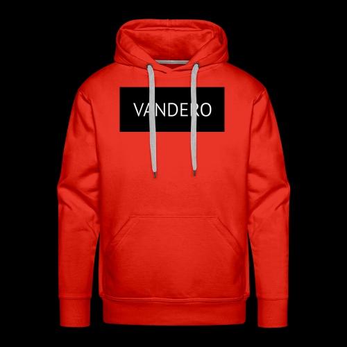 Line black vandero - Men's Premium Hoodie
