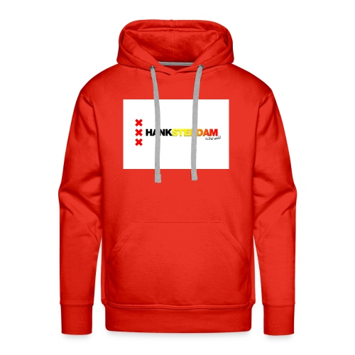 Hanksterdam! Echt wel! - Mannen Premium hoodie
