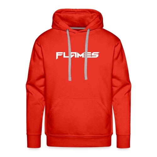 Futuristic Flames Hoodie - Men's Premium Hoodie