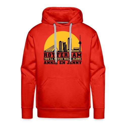 Skyline rotterdam 04 - Mannen Premium hoodie
